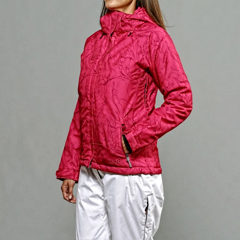 Marker Women's Curves Insulated Pink Ski Jacket