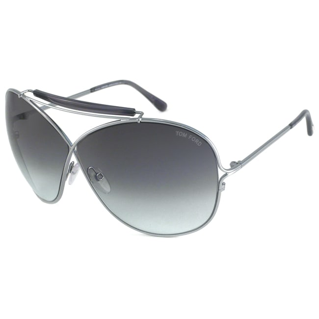 Tom Ford Women&#39;s TF0200 Catherine Oversize Sunglasses