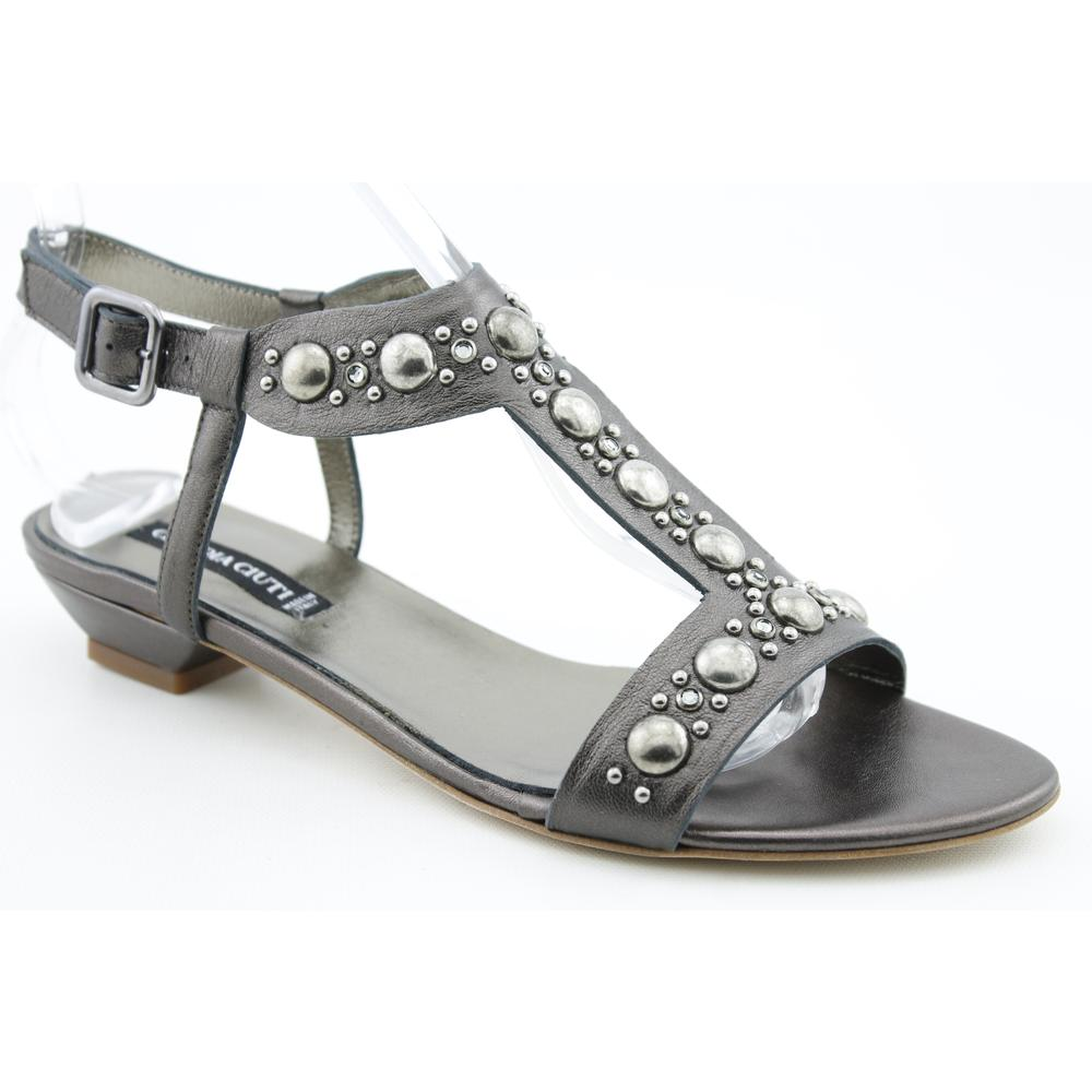 Claudia Ciuti Women's 'Cheyenne' Leather Sandals (Size 7)