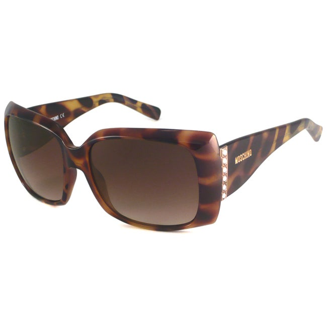 Moschino Women's MO562 Rectangular Sunglasses