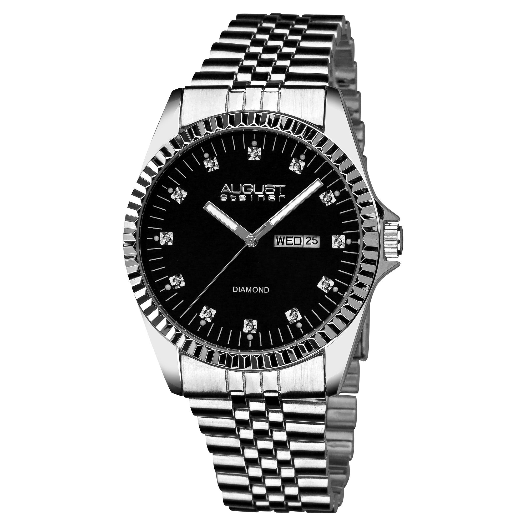 Best Buy Mens Diamond Watches: Luxurman Watch 2ct Luxurman