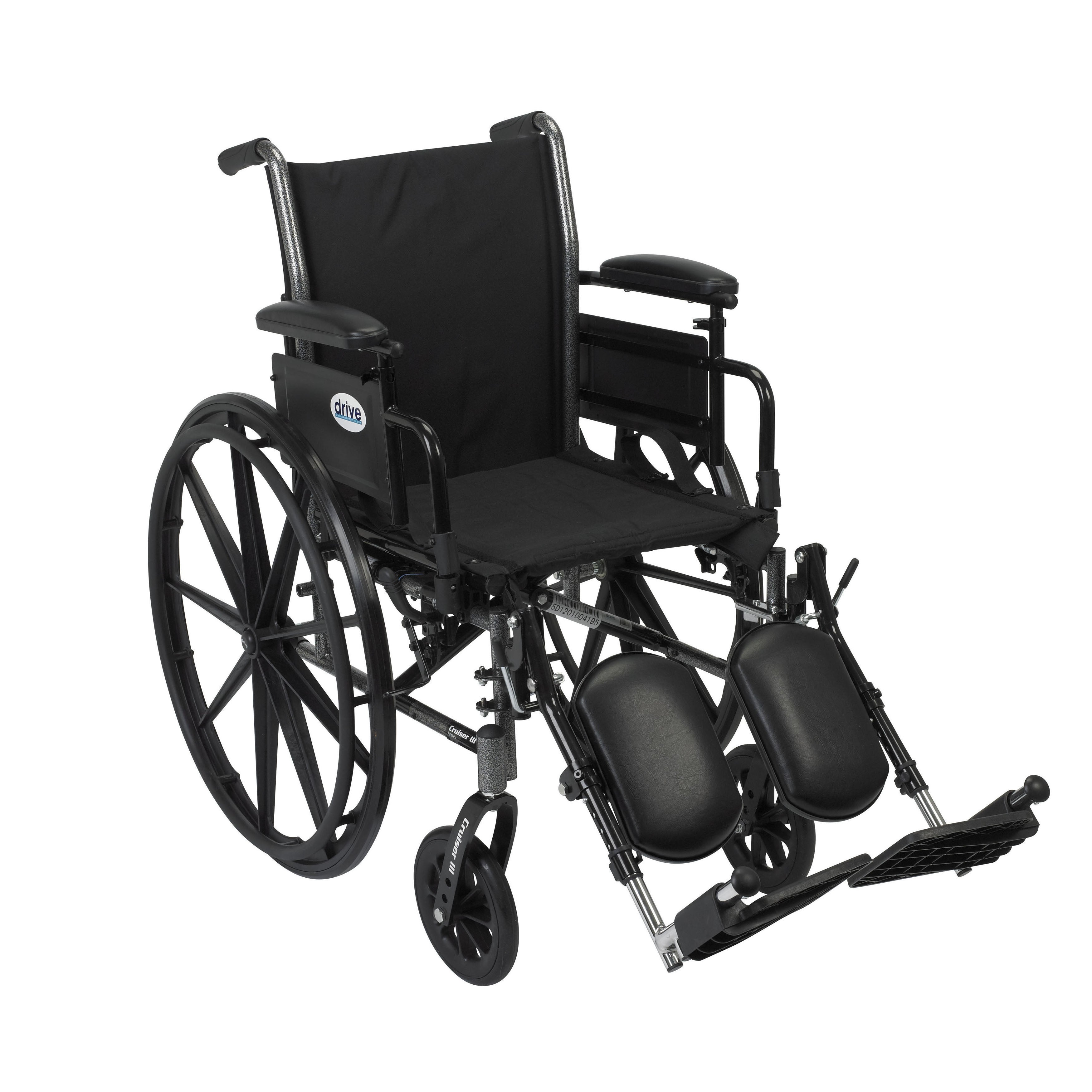 Drive Medical Cruiser III Lightweight Dual Axle Wheelchair