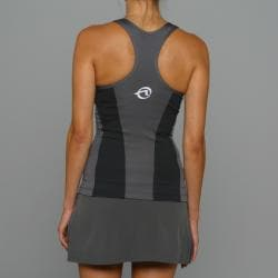 SportHill Women's Madison Black/ Pewter Fitness Tank Top