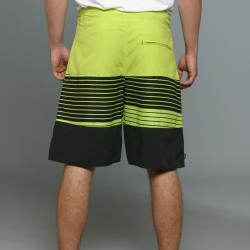 Zonal Men's Channel Boardshorts in Tender Shoots