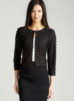 MSK Shutter Pleat Shrug