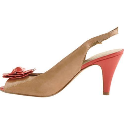 Women's Bandolino Apparently Natural/Coral Patent