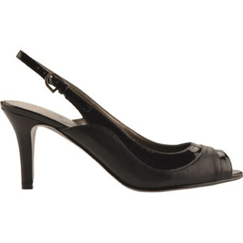 Women's Bandolino Gilded Black/Black Leather