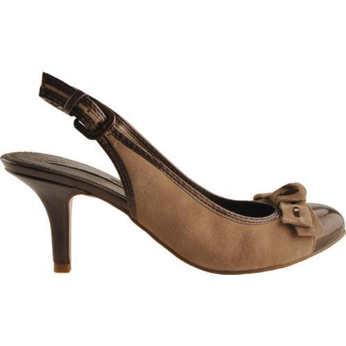 Women's Bandolino Milady Taupe/Dark Bronze Suede