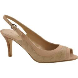 Women's Bandolino Gilded Taupe/Natural Leather