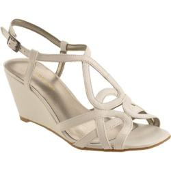 Women's Bandolino Rodger White Leather