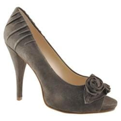 Women&#39;s Boutique 9 Click Dark Grey Suede