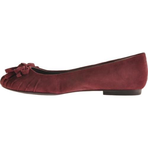 Women's Enzo Angiolini Cebra Dark Red Suede