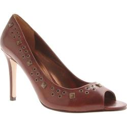Women's Enzo Angiolini Mayi Dark Brown Leather