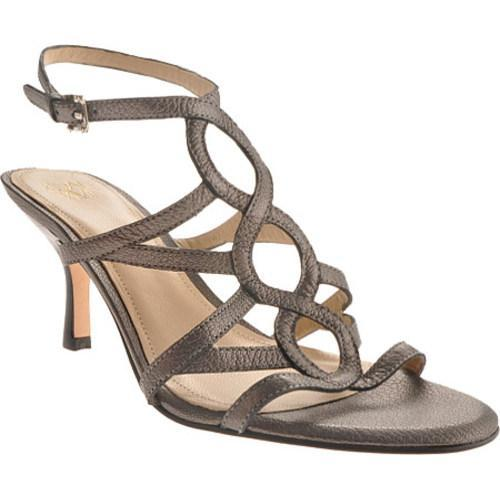 Women's Joan & David Jonetta Pewter Leather