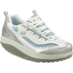 Women&#39;s Skechers Shape Ups Jump Start White/Silver/Light Blue
