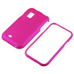 Dark Purple/ Black/ Pink Cases/ Protectors for Samsung i500 Fascinate