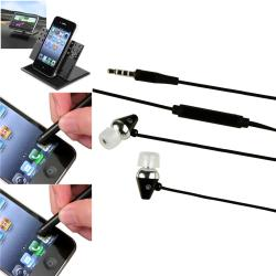 Swivel Phone Holder/ Headset/ Stylus for Samsung/ HTC/ Motorola