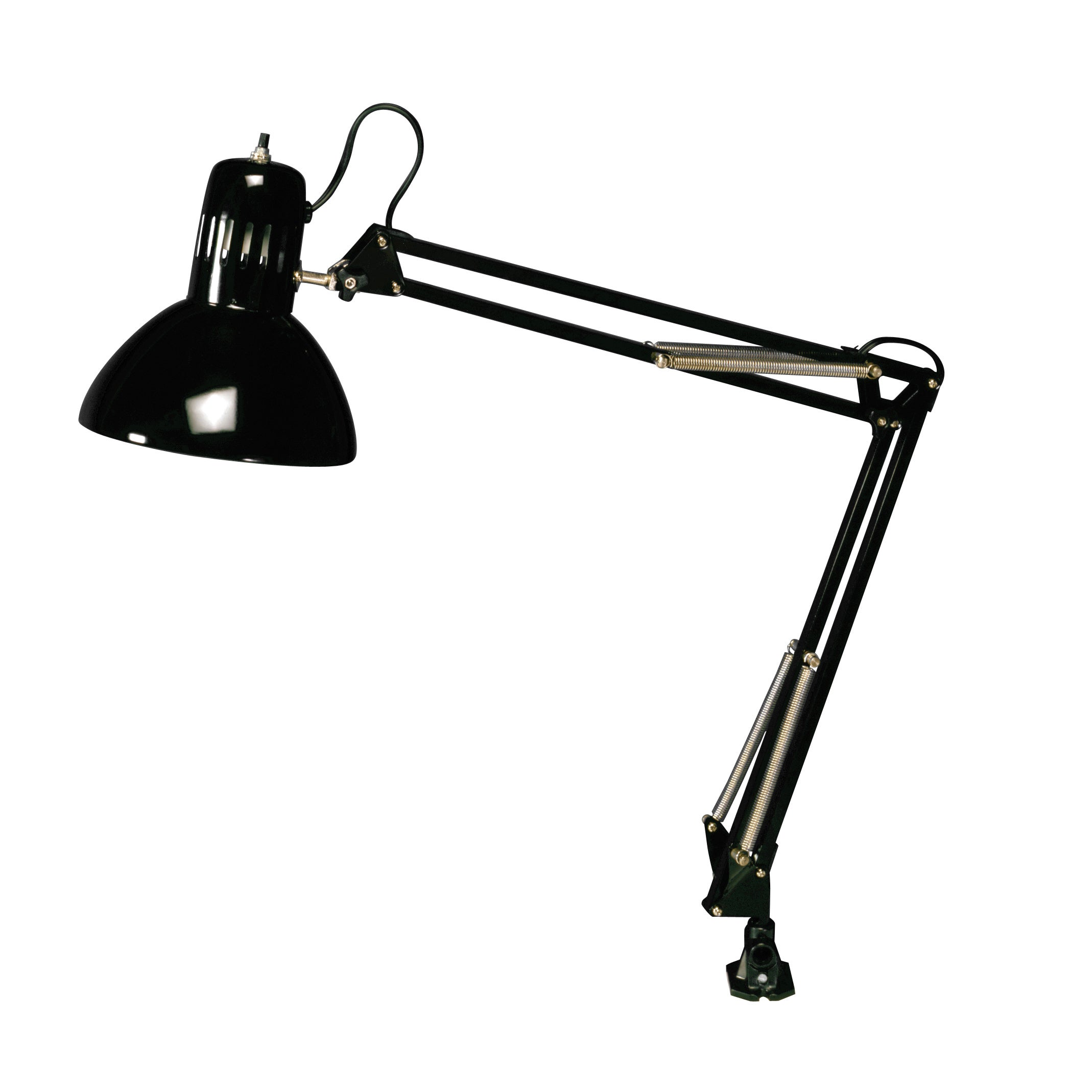 Studio Designs Black Swing Arm Lamp