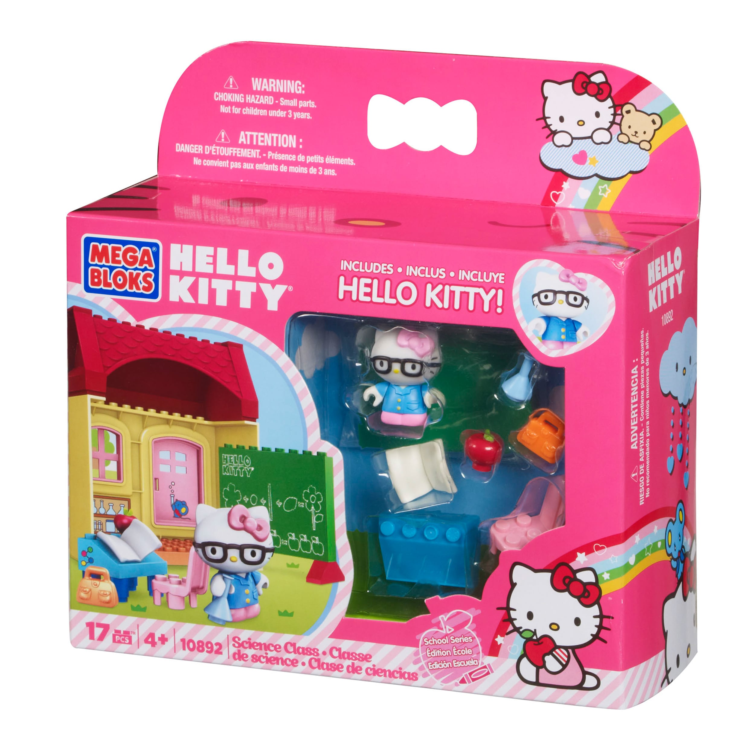 Mega Bloks Hello Kitty Science Class Playset