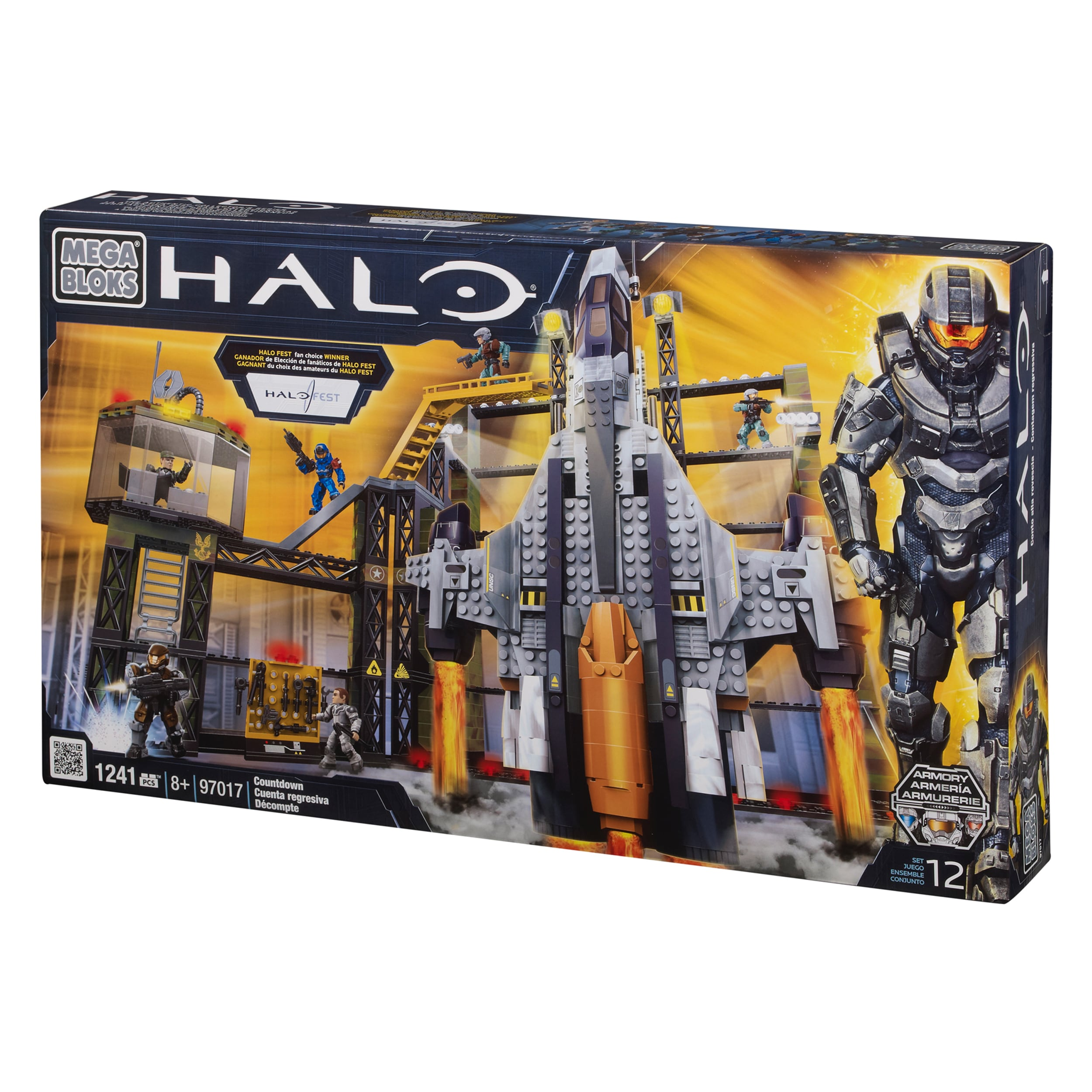 Mega Bloks Halo Countdown Playset