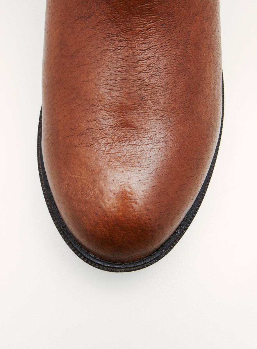 Steve Madden Sm Flat Hs Bootwith Buckle Detail