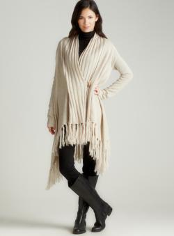 BB Dakota Rachel Fringe Bottom Sweater