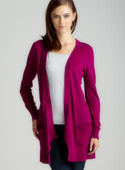 Cupio L/S Cardigan With Patch Pockets