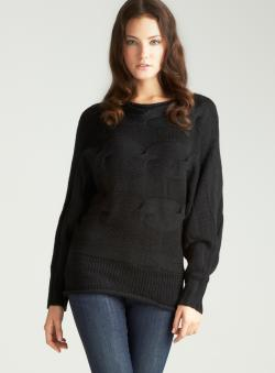 Vertigo Long Dolman Sleeve Tunic