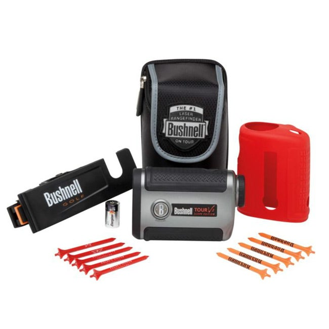 Bushnell Tour V2 Golf Slope Edition Rangefinder Patriot Pack