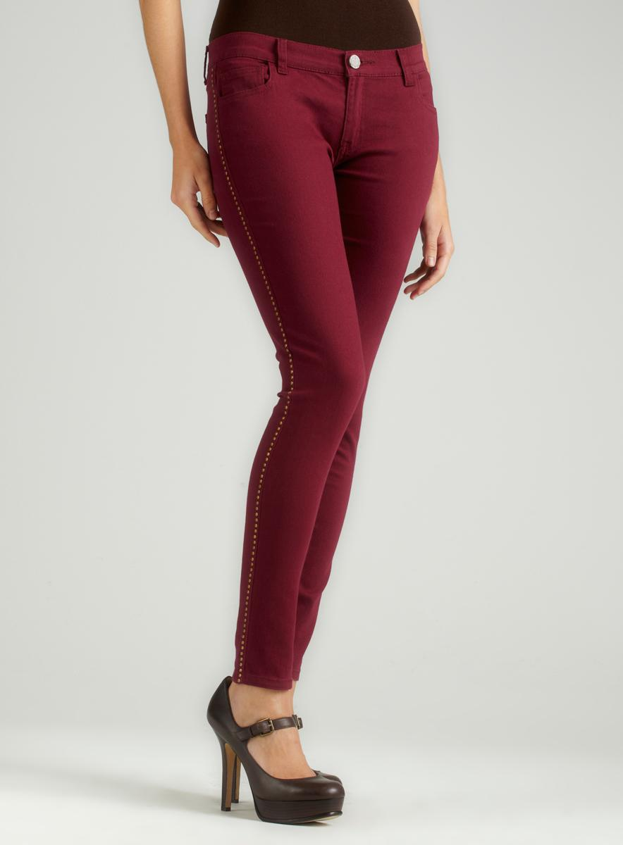 New Miss V Burgundy Casual Pants  Women Amp Plus  Zulily