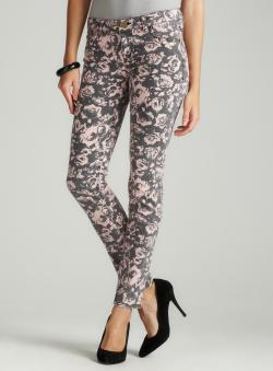 Tinseltown Floral Skinny In Photo Floral