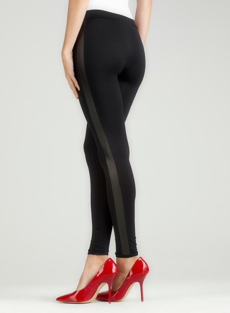Romeo & Juliet Couture Seamless Leggings With Trim