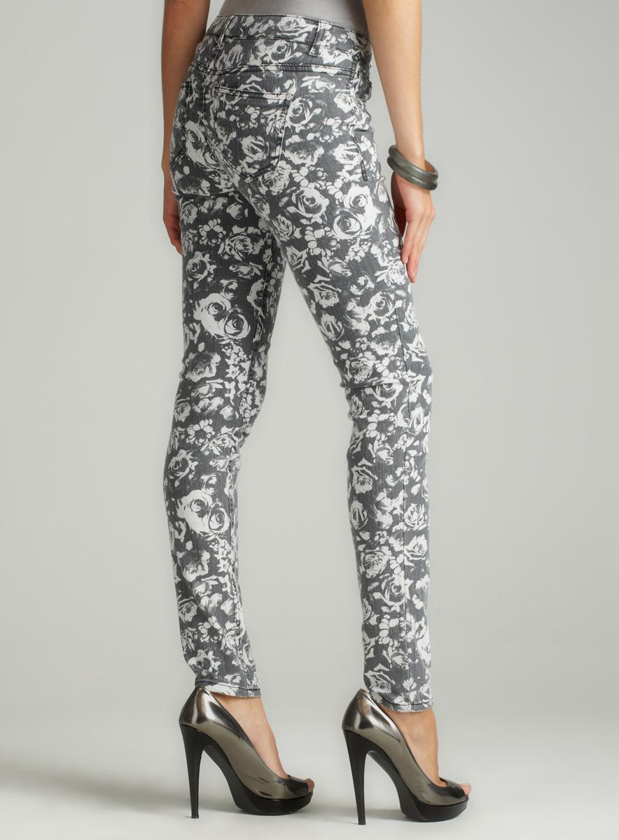 Tinseltown Printed Skinny Denim