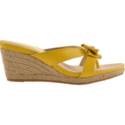 Women's Anne Klein Pointy Yellow Synthetic