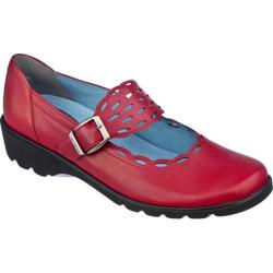 Women's Ara Amber 32739 Deep Red Leather