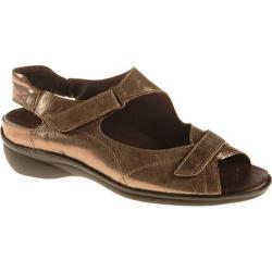 Women's Ara Maya 35472 Pewter Metallic Leather