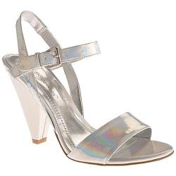 Women's BCBGeneration Blush Silver Holographic Leather