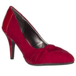 Riverberry Women's 'Vinnie' Microsuede Knot-detail Heel