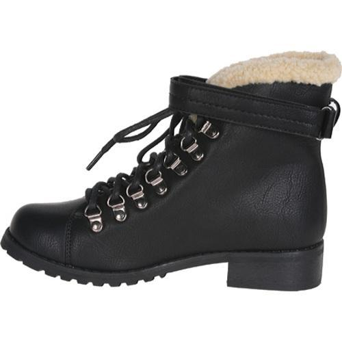 Women's Beston Nevada-01 Black Microfiber