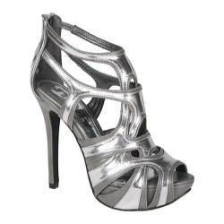 Women's Beston Haide-01 Silver PU