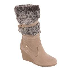 Women's Beston Lizzie-2 Nude Suede