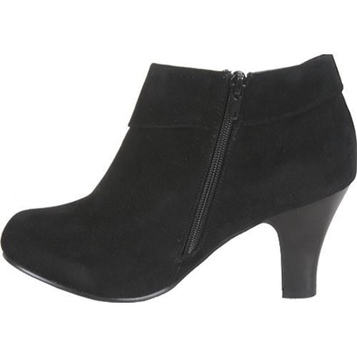 Women's Beston Novae-02 Black Suede