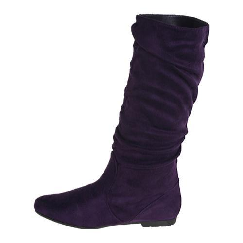 Women's Beston Vdera Purple Suede