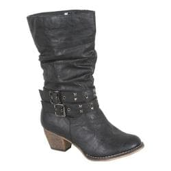 Women's Beston Wild-01 Black PU
