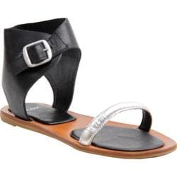 Women's Bronx In Ca Steel/Black Vachetta