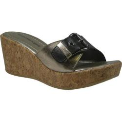 Women's Bruno Menegatti 4804 Black/Pewter