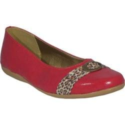 Women's Bruno Menegatti 81624 Red Leopard