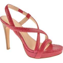 Women's Calvin Klein Prarie Bright Pink Honeycomb Print