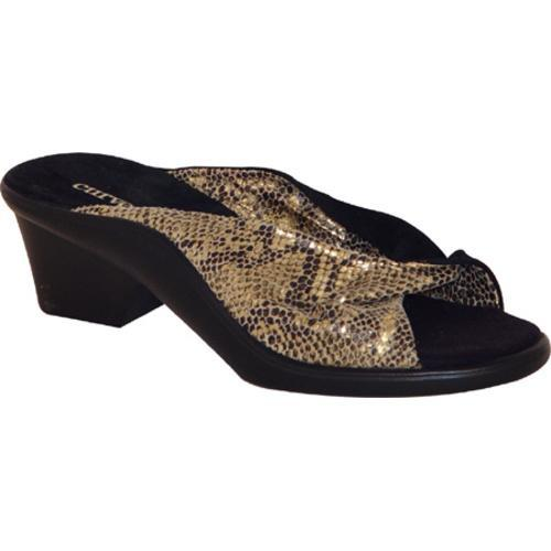 Women's Curvetures Mary Ann 707 Gold Print