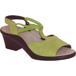 Women's Curvetures Jeri 661 Lime Suede